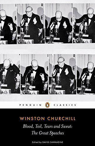 Royaume-UniBlood, Toil, Larmes Et Sweat : Winston de  Famous Speeches (Penguin
