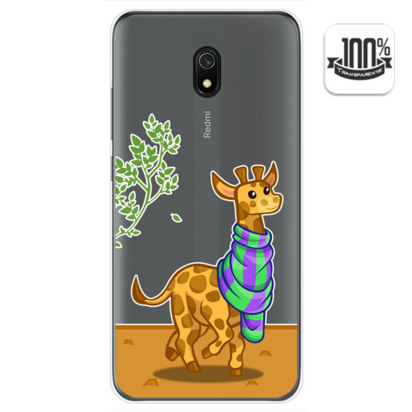 EspagneCoque Gel Transparent Pour Xiaomi Redmi 8A Design  Dessins