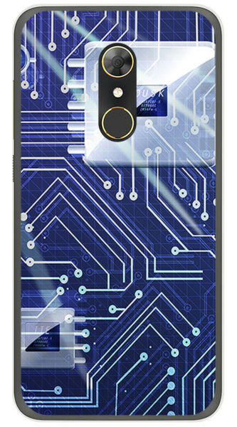 EspagneCoque en Gel TPU Pour Alcatel A7 (4G) Design  Dessins