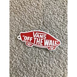 VANS Off The Wall Collectible Laptop Sticker   AUTHENTIC