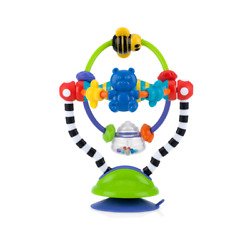 Nuby Silly Spinwheel Interactive High Chair Toy with Suction Base - Unisex