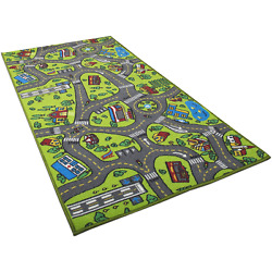 Kyпить Kids Carpet Playmat Rug City Life Great for Playing with Cars and Toys - Play, L на еВаy.соm