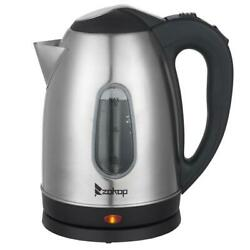 Kyпить 1500W Electric Tea Kettle Coffee Pot Hot Water Fast Boil Stainless Steel 1.8L на еВаy.соm