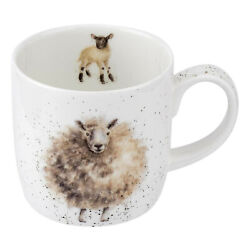 Kyпить Wrendale Sheep Mug The Wooly Jumper Fine China на еВаy.соm