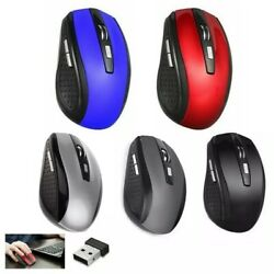 Kyпить 2.4GHz Wireless Optical Mouse Mice & USB Receiver For PC Laptop Computer DPI USA на еВаy.соm