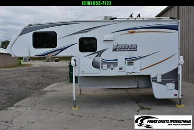 2014 Lance 1050S Truck Bed Camper RV Slideouts Sleeps 4 READY TO HUNT