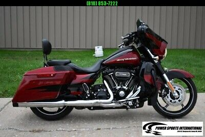 2017 HARLEY DAVIDSON FLHXSE STREET GLIDE CVO SPECIAL TOURING MOTORCYCLE MINT!