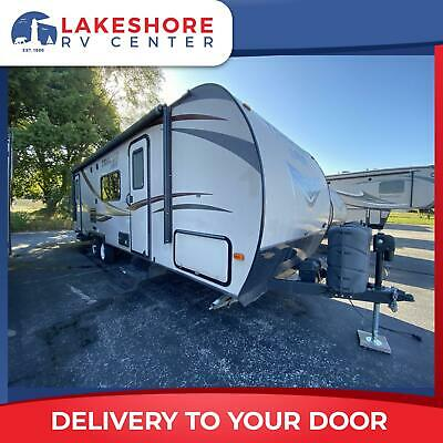USED 2015 FOREST RIVER TRACER 250 AIR TRAVEL TRAILER CAMPER RV - FALL CLEARANCE