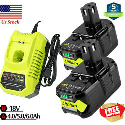 Kyпить For RYOBI P108 18V One+ Plus High Capacity 18Volt Lithium-Ion Battery or Charger на еВаy.соm