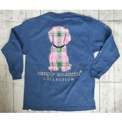 Kyпить  NWT Simply Southern Youth Sz. LARGE Long Sleeve T-Shirt на еВаy.соm