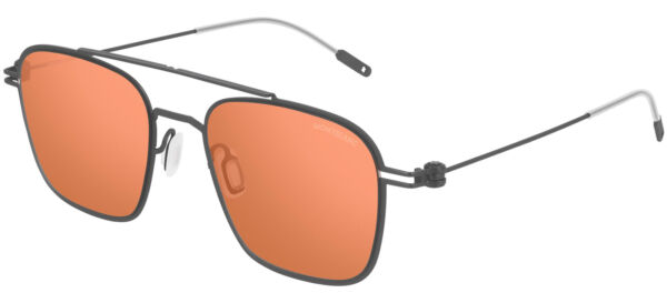 ItalieMont Blanc MB0050S /Orange 54/19/145 men Sunglasses