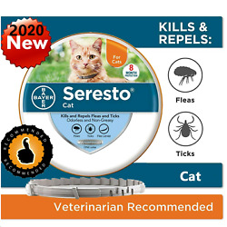 Kyпить Bayer Seresto Flea Collar for Cats 8 Months and Tick Prevention Fast Shipping на еВаy.соm