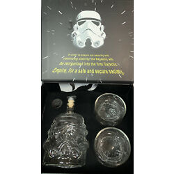 Kyпить Star Wars Stormtrooper Whiskey Decanter Set with 2 Glasses LIMITED EDITION NEW на еВаy.соm
