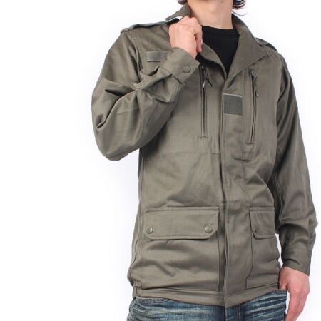 img-New Unissued French F1 olive field jacket combat coat surplus army military