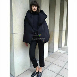 Kyпить Toteme Winter Oversized Hat One-button Short Hooded Down Jacket 90% Goose Down  на еВаy.соm