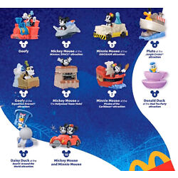Kyпить 2020 McDONALD'S Disney Mickey Minnie's Runaway Railway HAPPY MEAL TOYS Or Set на еВаy.соm