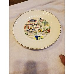 Kyпить Vintage South Carolina State Souvenir Plate  на еВаy.соm