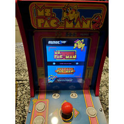 Kyпить Arcade1Up 2-in-1 Countercade with Ms. Pac-Man and Super Pac-Man Games на еВаy.соm