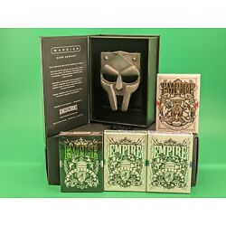 4 Decks Empire playing cards and Warrior Card Armour Kings and Crooks
