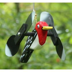 Kyпить Woodpecker Mini Whirligigs Whirligig Windmill Yard Art Hand made from wood на еВаy.соm