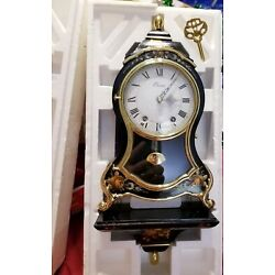 Kyпить Eluxa Swiss Clock French Style with Wall Mantle and Key New in Box Hand Painted на еВаy.соm