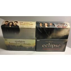 Kyпить SEALED TWILIGHT BREAKING DAWN & ECLIPSE TRADING CARD BOX NECA - 24 PACKS EACH на еВаy.соm