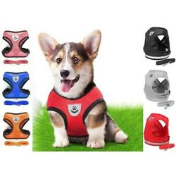 Kyпить Mesh Padded Soft Puppy Pet Dog Harness Breathable Comfortable Many Colors S M L на еВаy.соm