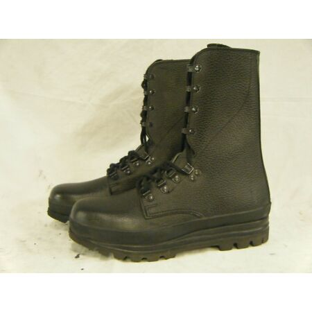 img-Swiss Army KS90 Surplus Combat Para Paratrooper High Leather Boots Size 6 39