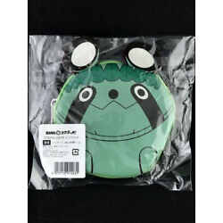 Steins;Gate 0 Coin Purse Case DMM.com Green Upa Forest of the Fairy Upa New