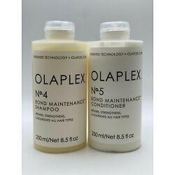 Kyпить Olaplex No 4 and No.5 Shampoo and Conditioner Duo 8.5 oz 100% Authentic   на еВаy.соm