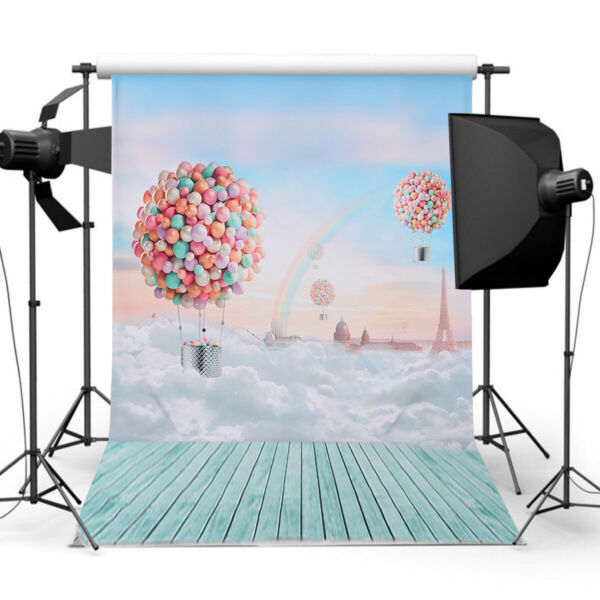 Tschechische Republik5x10FT Photography Backdrops Studio Video Background Decor Props for Baby S2U6