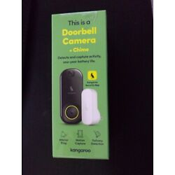 Kyпить Kangaroo Door Bell Camera + Chime Motion Detection Included Package Theft Protec на еВаy.соm