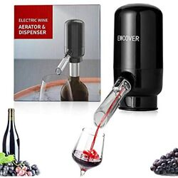 EWCover Electric Wine Aerator Pourer, Automatic One-Touch Smart Decanter And