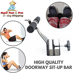 Body Muscle Strength Barbell Doorway Sit Up Bar Fit Door Exercise Fitness Weight