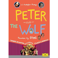 Roy Hudd-Peter and the Wolf: Narrated By Sting (UK IMPORT) DVD [REGION 2] NEW