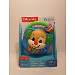 FISHER-PRICE LAUGH & LEARN SING & LEARN MUSIC PLAYER ABC'S-COUNTING AND MORE
