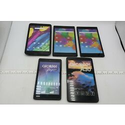 Kyпить LOT OF 5 ALCATEL FAKE DUMMY TABLETS - FOR DISPLAY, PROPS, TOYS, RETAIL ETC на еВаy.соm