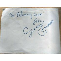 Kyпить George Harrison autograph (original) acquired by me in 1968 на еВаy.соm