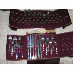 Kyпить Oneida Community Queen bess  1924 Deco silverplate Tudor  29 pcs  на еВаy.соm
