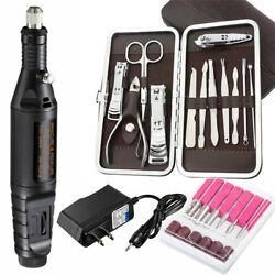Kyпить Professional Electric Acrylic Nail Drill File Machine Kit With Bits Manicure USA на еВаy.соm