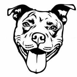 Pit Bull Lover Dog Decal
