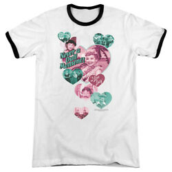 I Love Lucy ''Never A Dull Moment'' Ringer T-Shirt