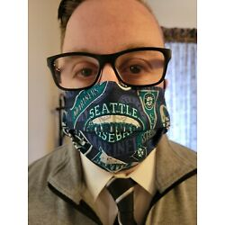 Kyпить  Men's Seattle MARINERS Mask with 4 level safety features на еВаy.соm