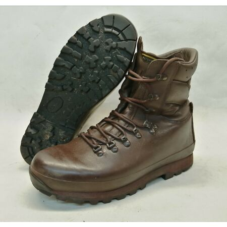 img-British Army Altberg Defender Leather Boots Combat Male Brown Hiking Walking
