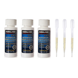 Kyпить Kirkland Minoxidil 5% Solution Hair Loss Regrowth Treatment 3 Month  на еВаy.соm