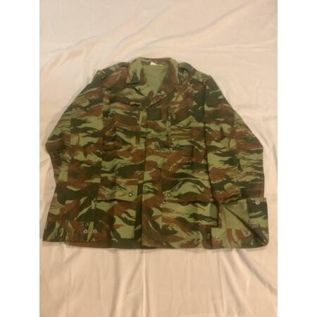img-French Made F1 Lizard Camouflage Jacket Veste African Mauritanian Army Export