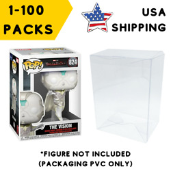 Kyпить Lot 5 20 60 100 Collectibles Funko Pop Protector Case for 4