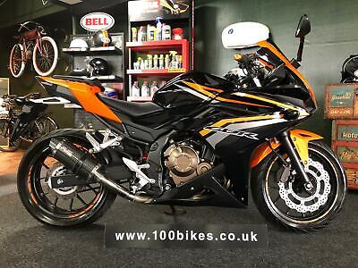 2017 HONDA CBR 500 R A2 LICENCE, EXTRA'S ONLY 274 MILES