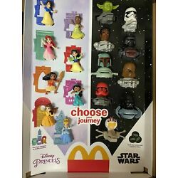Kyпить 2021 McDONALD'S Disney's Princess or Star Wars HAPPY MEAL TOYS Or Set на еВаy.соm