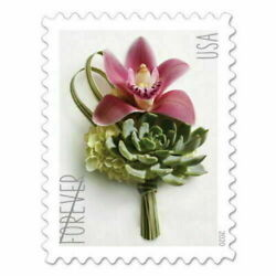Kyпить 200 USPS Forever Stamps SEALED Contemporary Boutonniere Wedding на еВаy.соm